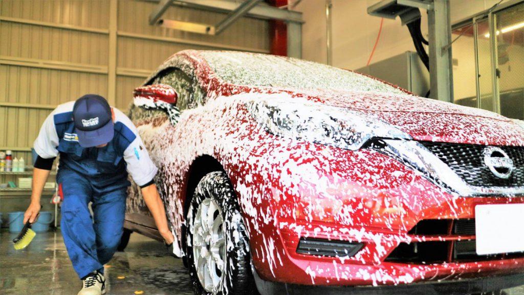 すぐに汚れる冬におススメな手洗い洗車とは?|白河市・棚倉町の洗車専門店
