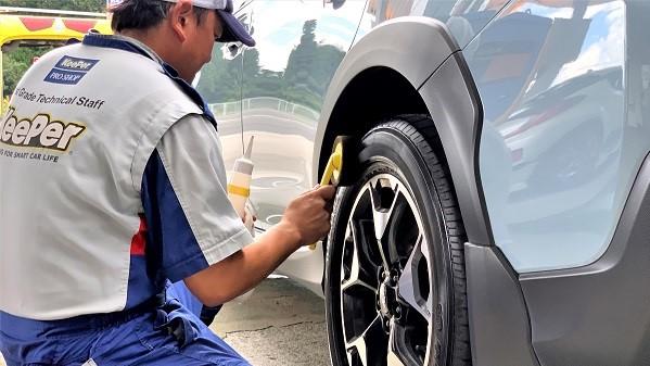 タイヤワックスの選び方~油性と水性の違いとは? 白河市・棚倉町の洗車専門店